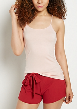 Light Pink Jersey Knit Favorite Cami