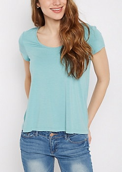 Light Blue Relaxed Tee