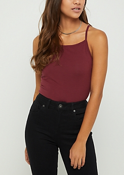Burgundy Favorite Cami