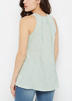 Ladder Back Swing Tank by Sadie Robertson x Wild Blue