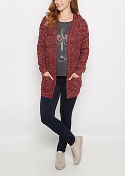 Ruby Marled Oversized Cardigan
