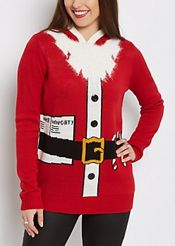 Santa Tunic Sweater & Hat