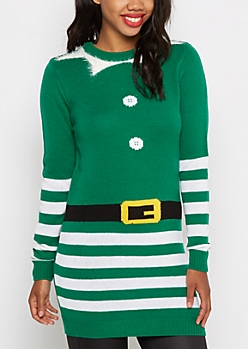 Elf Tunic Sweater & Hat