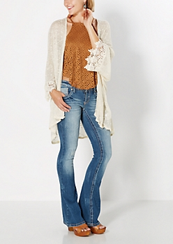 Floral Crochet Wrap by Coco + Jameson®