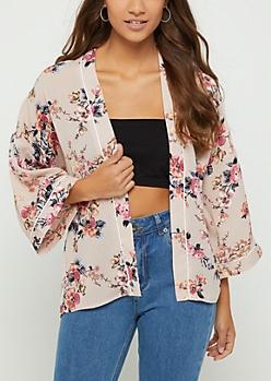 Pink Blossom Kimono