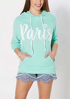 Paris Raglan Hoodie
