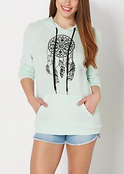 Medallion Dreamcatcher Sweater Hoodie