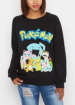 Pokemon Crew Fleece Sweatshirt