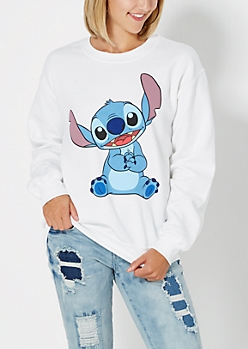Smiling Stitch Sweatshirt