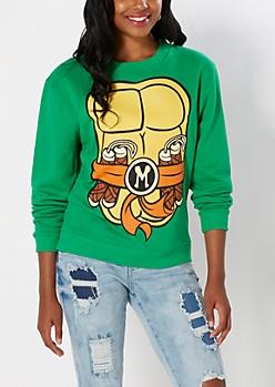 TMNT Michelangelo Fleece Sweatshirt