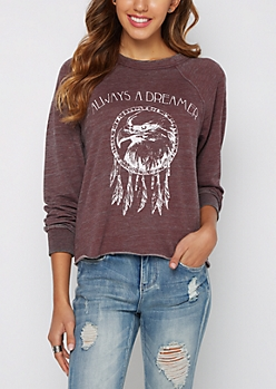 Always a Dreamer Raglan Sweatshirt