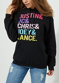 Black Fleece Boy Band Hoodie