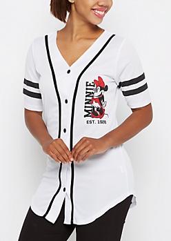Team Minnie Baseball Jersey