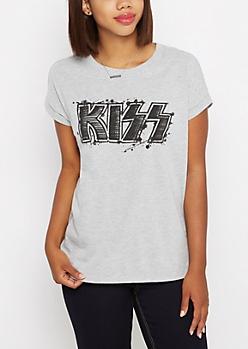 Kiss Logo Tee