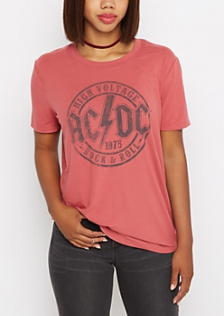 AC/DC Soft Knit Tee