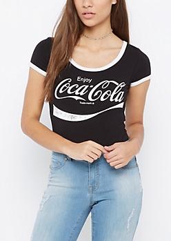 Coca-Cola Ringer Bodysuit