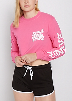 Savage Crop Long Sleeve Tee