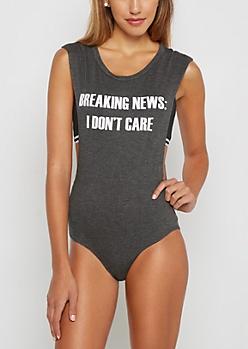 Breaking News Bodysuit