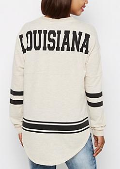 Louisiana Love Rainbow Speckled Sweatshirt