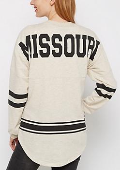 Missouri Love Rainbow Speckled Sweatshirt