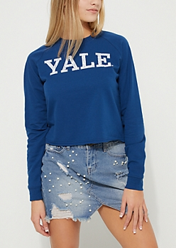Yale Crop Tee