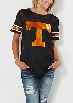 Black Tennessee Volunteers Football Jersey
