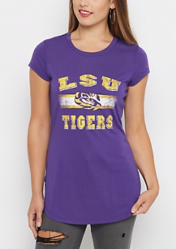 LSU Tigers Tunic Tee