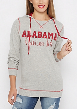 Alabama Crimson Tide Color Blocked Hoodie
