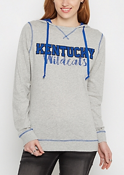 Kentucky Wildcats Color Blocked Hoodie