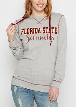Florida State Seminoles Color Blocked Hoodie