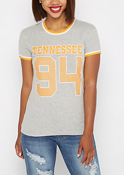 U of Tennessee Polka Dot Varsity Tee