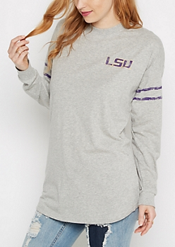 LSU Drop Yoke Top