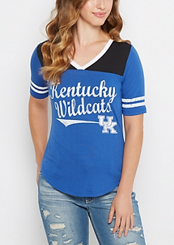 Kentucky Wildcats Retro Football Tee