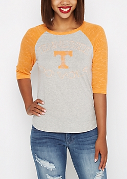 Tennessee Vols Space Dye Baseball Tee