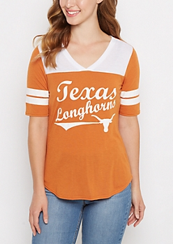 Texas Longhorns Retro Football Tee