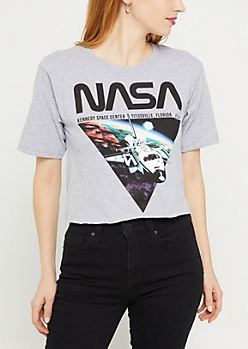 NASA Kennedy Space Center Skimmer Tee