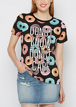 Donut Know Donut Care Tee