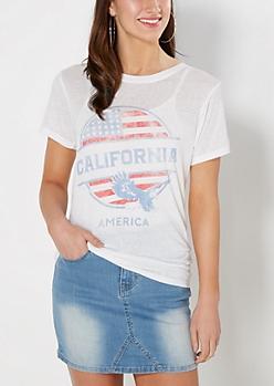 Vintage California Americana Tee