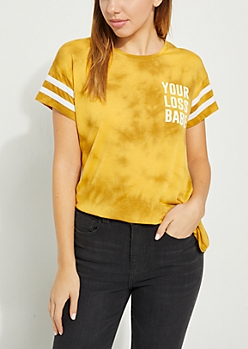 Your Loss Babe Athletic Tie Dye Tee
