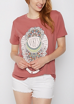 Boho Good Vibes Soft Knit Tee