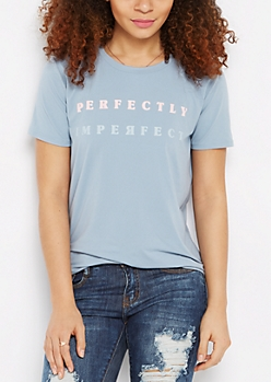 Perfectly Imperfect Brushed Tee