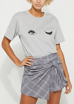 Wink Embroidered Tee