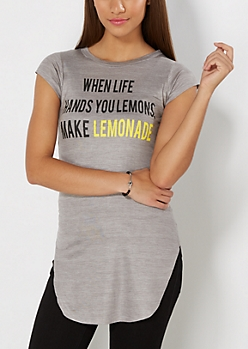 Make Lemonade Longline Tee