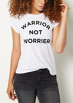 Warrior Not Worrier Tee