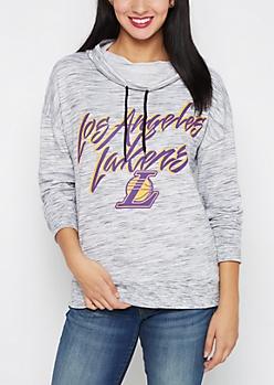 Los Angeles Lakers Funnel Neck Hoodie