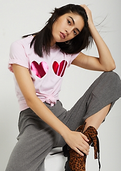 Foiled Hearts Tee