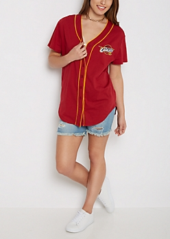 Cleveland Cavaliers Baseball Jersey Tee