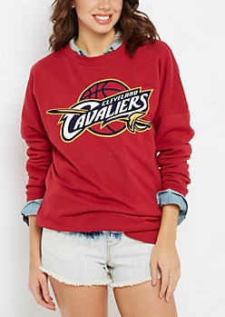 Cleveland Cavaliers Drop Yoke Sweatshirt