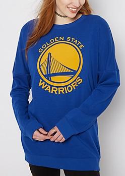 Golden State Warriors Drop Yoke Sweatshirt