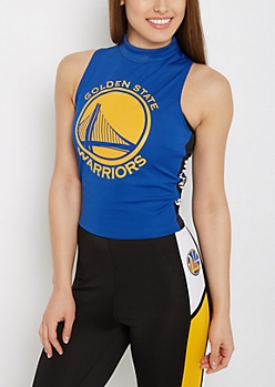 Golden State Warriors Mock Neck Tank